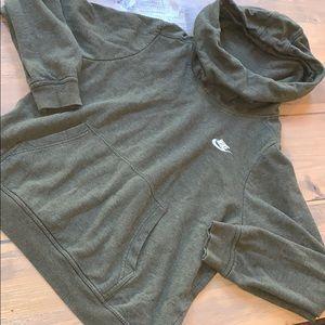 Nike hooded sweatshirt size L